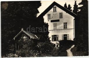 Sankt Radegund am Schöckel, Villa Budapest