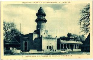 1931 Paris, Exposition Coloniale Internationale; pavilion of Somali
