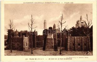 1931 Paris, Exposition Coloniale Internationale; Palace of A.O.F., Sudanese street