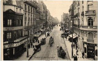 Paris, Rue Lecourbe / street, shops