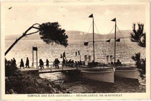 Ile Saint-Honorat, Esterel stemahip