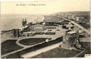 Dieppe, Beach, casino