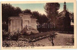 Clermont, Monument aux Morts