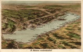 Balaton, térkép