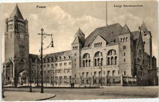Poznan, Posen; Königl. Residenzschloss / castle