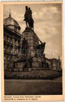 Kraków, Cracovie; Pomnik króla Wladyslawa Jagielly / Wladyslaw Jagiello statue