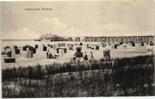 Miedzyzdroje, Misdroy; Ostseebad / beach