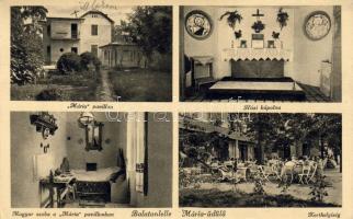 Balatonlelle, Mária üdülő, Mária Pavillon, Házi kápolna, Magyar szoba, belső