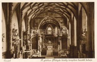 Szeged, Mátyás király templom, belső