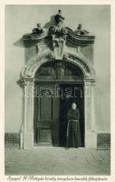 Szeged, Mátyás király templom főbejárata