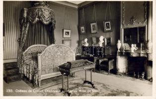 Coppet, Coppet Castle, Madame de Staël's bedroom, interior