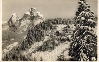 Schwyz-Stoos funicular railway, mountain station