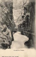 Gorges du Trient, bridge
