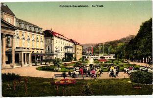 Rogaska Slatina, Rohitsch-Sauerbrunn; Kurplatz / spa square