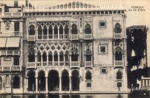 Venice, Venezia; La Ca d'Oro / palace