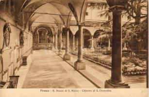 Firenze, Museo di S. Marco, Chiostro di S. Domenico / museum, cloister