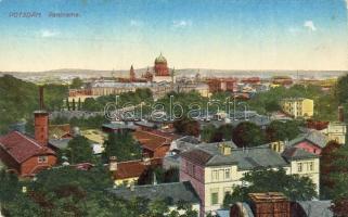 Potsdam, backside advertisement: Lambermont's Stoomkoekfabriek 'De Klok'
