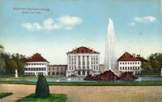 München, Nymphenburg Palace, park