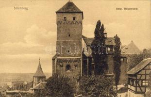 Nürnberg, Burg, Heidenturm / castle, tower