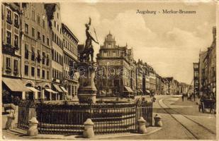 Augsburg, Merkur-Brunnen / fountain