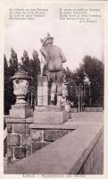 Lübeck, Puppenbrücke, Merkur / bridge, statue