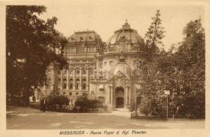 Wiesbaden, Foyer d. Kgl. Theater