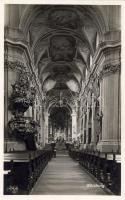 Würzburg, Neumünster, Mittelschiff / cathedral, nave, interior