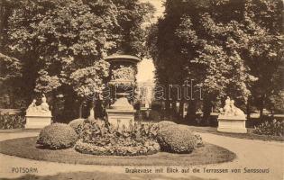 Potsdam, Drakevase, Terrassen von Sanssouci / vase, terraces