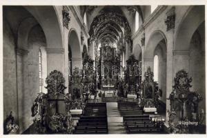 Würzburg, Augustinerkirche, Mittelschiff / church, nave, interior