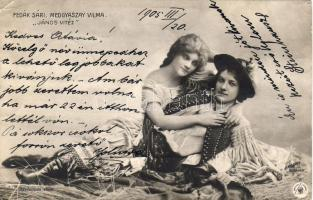 Fedák Sári, Medgyaszai Vilma