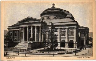 Palermo, Teatro Massimo / theatre