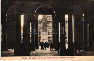 Rome, Roma; Galleria del nuovo Palazzo Banca Nazionale di Credito / national bank
