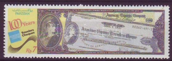 Centenary of American Express Traveler Cheque, 100 éves az American Express utazási csekk, 100 Jahre American-Express-Reiseschecks
