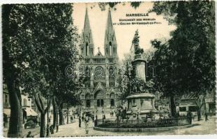 Marseille, Monument des Mobiles, Eglise St. Vincent de Paul / monument, church, automobil