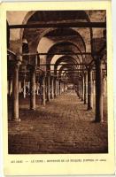 Cairo, D'Amrou mosque, interior