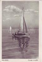 Balaton, vitorlás hajó