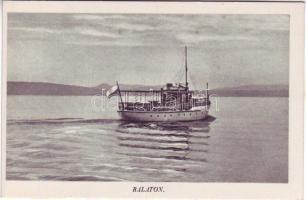 Balaton, gőzhajó