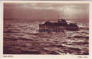 Balaton, hajó