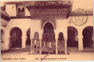 Fez, Karouine Ablution mausoleum