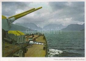 Norvég fjordok, nehéz német cirkáló, WWII, Norwegian fjords, German heavy cruiser, WWII