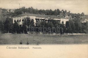 Sliac, Hotel Pannonia, Szilács, Pannonia szálló