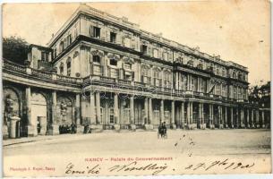 Nancy, Palais du Government