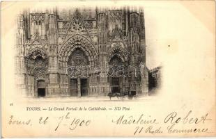 Tours, Grand Portal of the cathedral