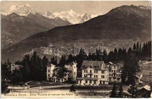 Montana sur Sierre, Hotel Victoria, Alps