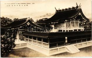Tokyo, Main shrine of Meiji Shrine