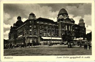 Budapest XI. St. Gellért spa and hotel, Budapest XI. Szent Gellért gyógyfürdő és szálló