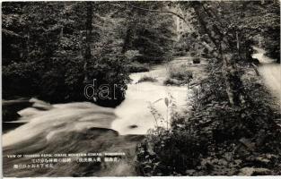 Oriase Mountain Stream, Ishigedo rapids, Aomori Prefecture, Oriase hegyi folyó, Ishigedo zúgó, Aomori Prefektúra