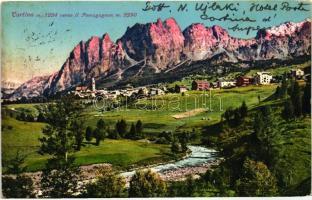 Cortina, Pomagagnon mountain, Cortina, Pomagagnon hegy