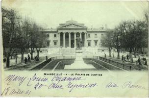Marseille, Palais de Justice / palace of justice