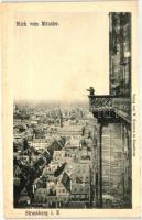 Strasbourg, Strassburg i. E.; view from the monastery